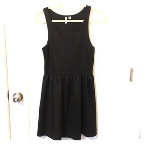 Frenchi black mini dress